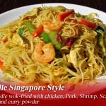 rice noodle singapore