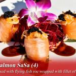salmon sasa